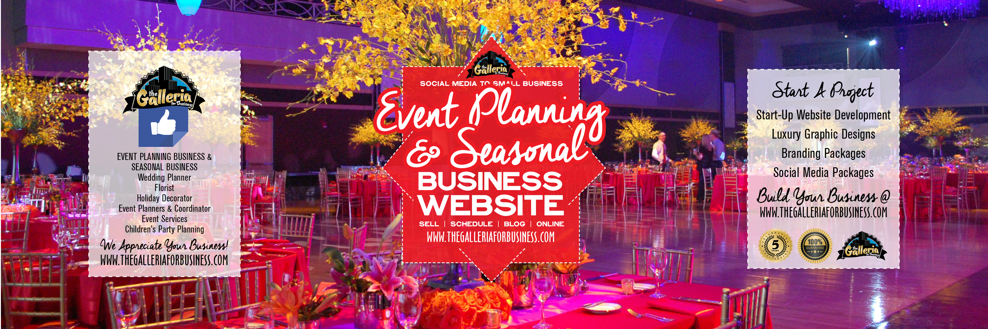 Event Planning & Seasonal Business
